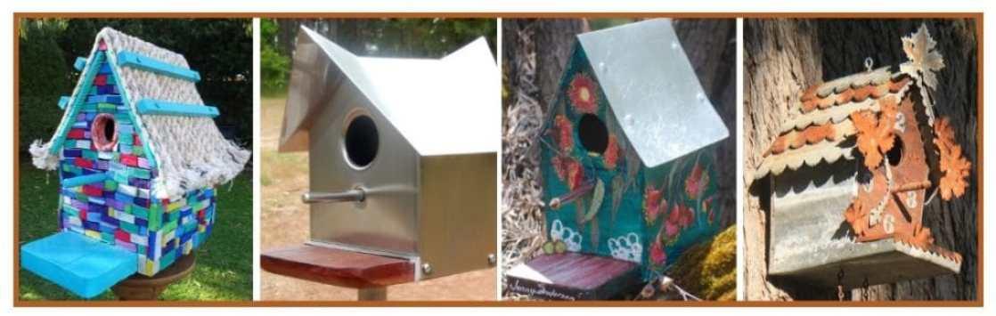 Subirdia Birdhouse Pictures