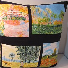 This unique 24 X 24 art-themed cotton pillow will add a conversation piece in your home, office, studio or boutique.