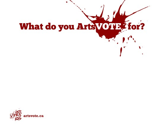What_Do_You_ArtsVote_For