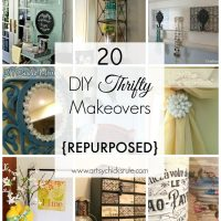 20 DIY Thrifty Makeovers {Repurposed Items}