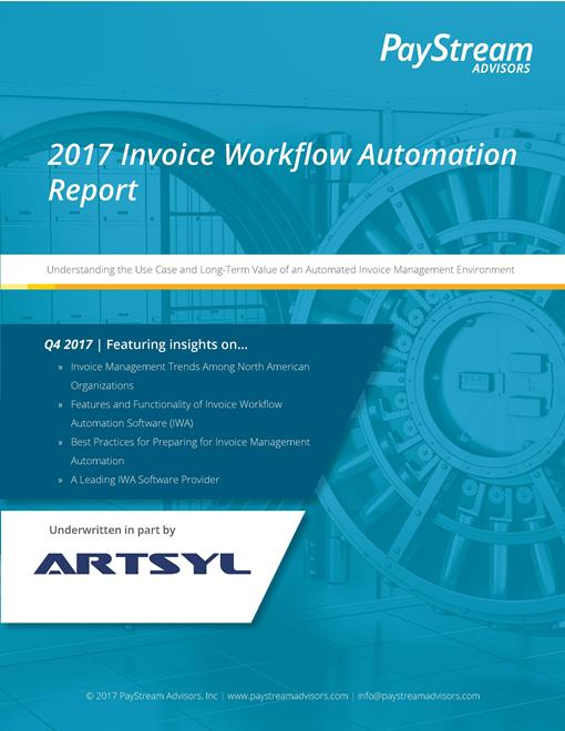 2017 Invoice Workflow Automation Report