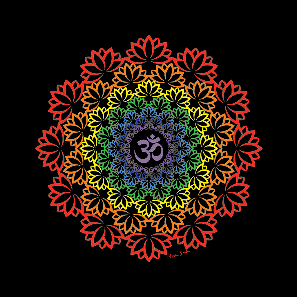 Passion Wallpapers Girl Namaste Mandala Artsytoo Creations Inc