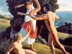 """Hercules Protecting the Balance Between Pleasure and Virtue"", David Ligare."