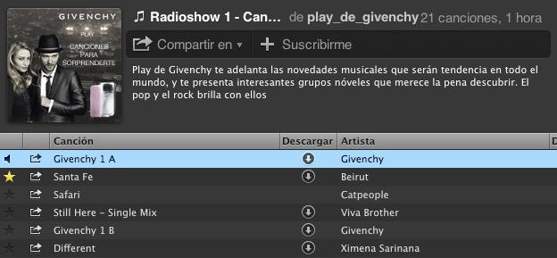 Play de Givenchy