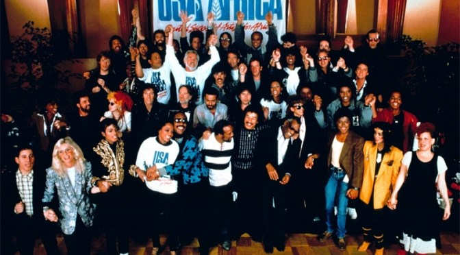 USA for Africa, cuando la música se hizo solidaria