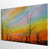 Art Painting, Original Painting, Colorful Sky Painting ...