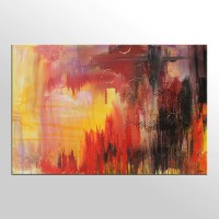 Abstract Painting, Large Art, Original Painting, Acrylic ...