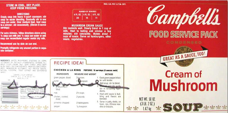 Campbell Soup Labels World of Example