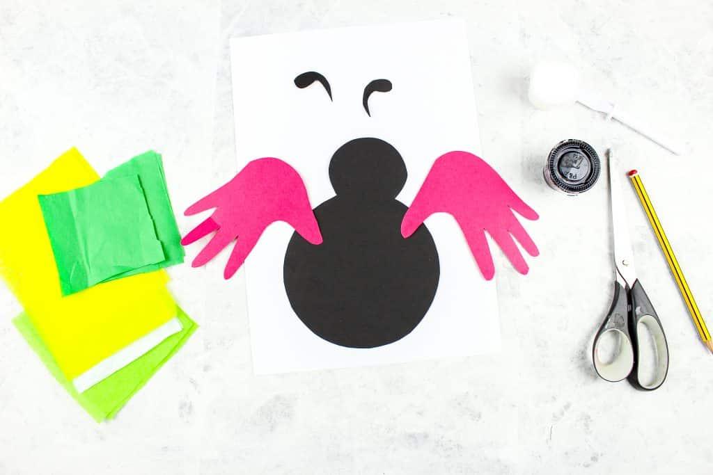 Handprint Ladybug Craft Arty Crafty Kids