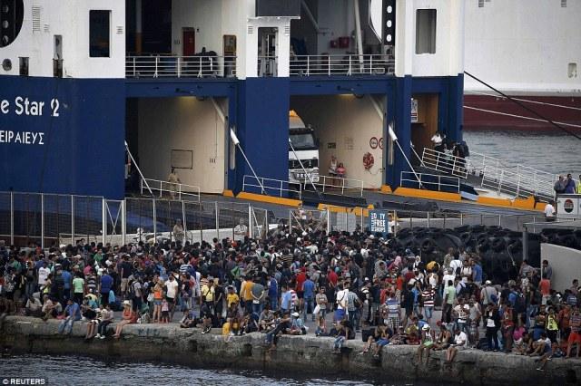 μετανάστευση είναι ίσως ένα προμελετημένο σχέδιο