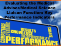 Evaluating the Medical Advisor-Medical Science Liaison (MSL) Function