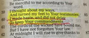 highlight verses