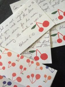 verse cards