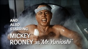 Mickey Rooney, Breakfast at Tiffanys