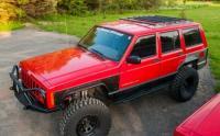 Jeep Cherokee Roof Rack Sport Rack Short 86-01 Cherokee XJ ...