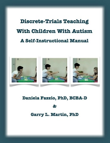 Association for Science in Autism Treatment Discrete-Trials Teaching - instructional manual