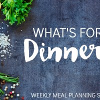 Introducing... What's for Dinner? Meal Planning Service