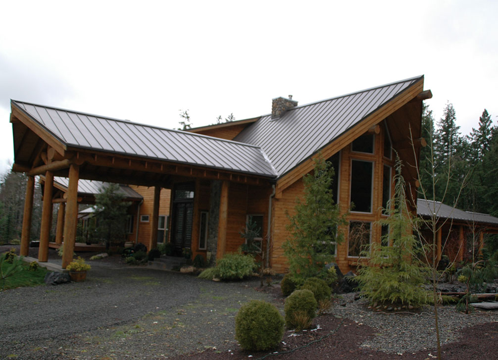 Skyline Roofing Residential Standing Seam Metal Roofing