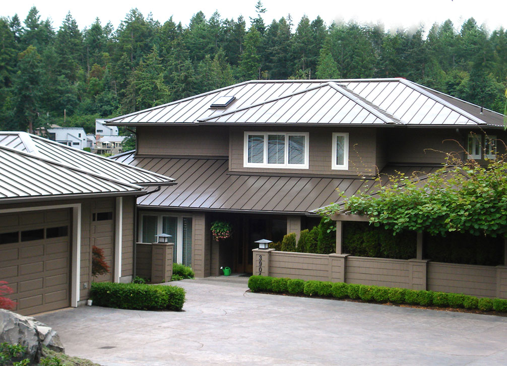 Skyline Roofing® hp Residential Standing Seam Metal Roofing