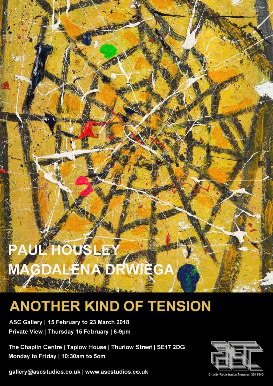 Another Kind of Tension Paul Housley/ Magdalena Drwiega.