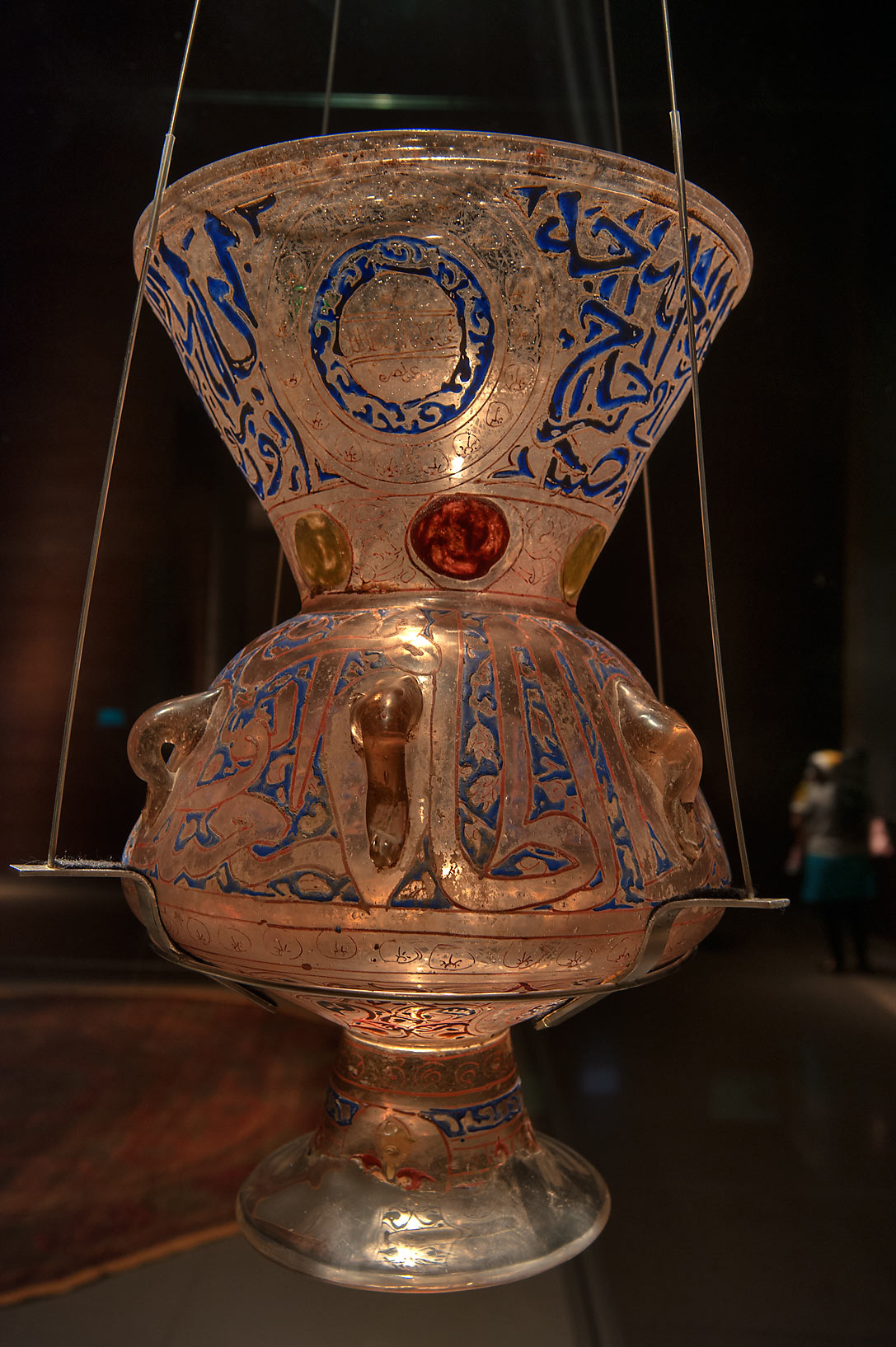 Photo 1013 02 Egyptian Mosque Lamp In Museum Of Islamic