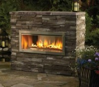 GAS FIREPLACE GLASS SOOT  Fireplaces