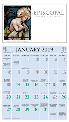 2019 Episcopal Calendar - Ashby Publishing