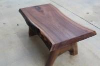 Black Walnut Coffee Table with Leaf Inlay $600 ...