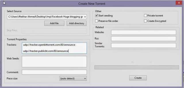how to create and seed a torrent tutorial