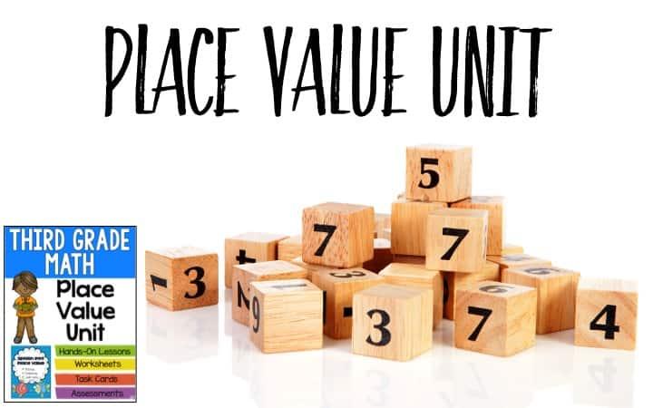 Third Grade Place Value - Ashleigh\u0027s Education Journey - place value unit