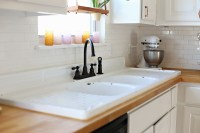 my new sink {an old cast iron}  ashleyannphotography.com