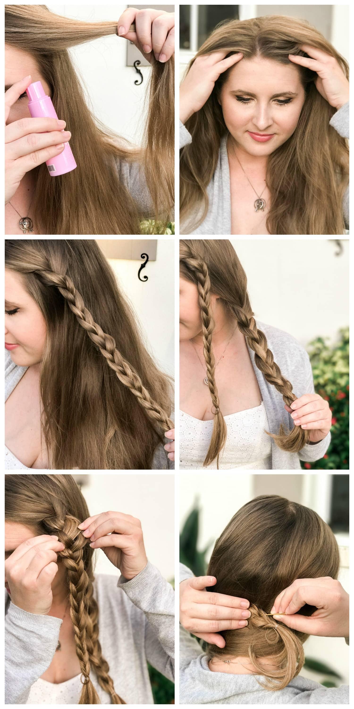 Easy and Cute Side Braid Tutorial