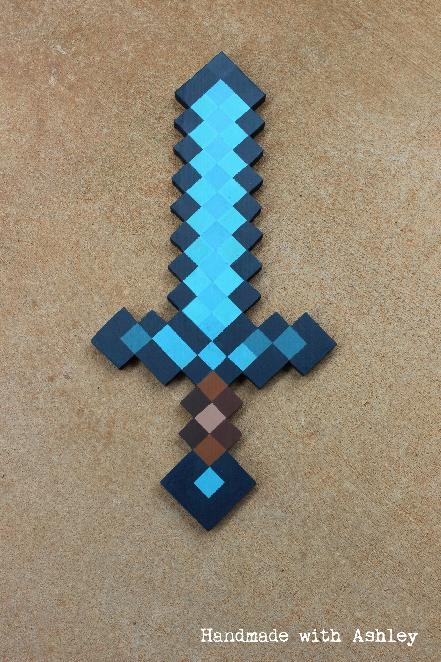 diy minecraft sword wooden sword tutorial handmade