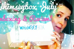 unboxing review video whimseybox 2014