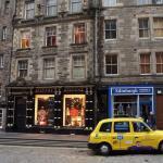 Royal Mile facades Edinburgh