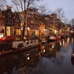 A perk of visiting Amsterdam in winter? The canals lookhellip