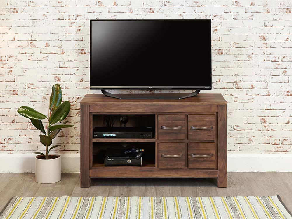 Modern Walnut Tv Cabinet