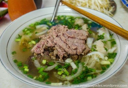 Mixed beef pho at Pho Hoa