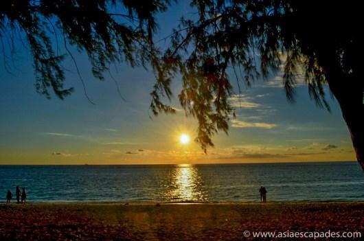 Flic en flac sunset 1