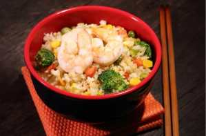 Healthy Shrimp Fried Rice