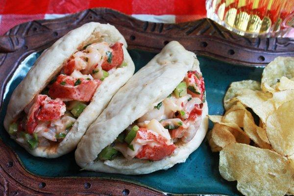 Asian Lobster Rolls