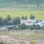 Tumen River is flowing on the border between Hoeryong City of North Korea and China: the incident occurred in this area. Taken on August 2015 from Chinese side by ISHIMARU JIRO (ASIAPRESS)