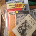 Plethora of dirty pulps and bondage rags