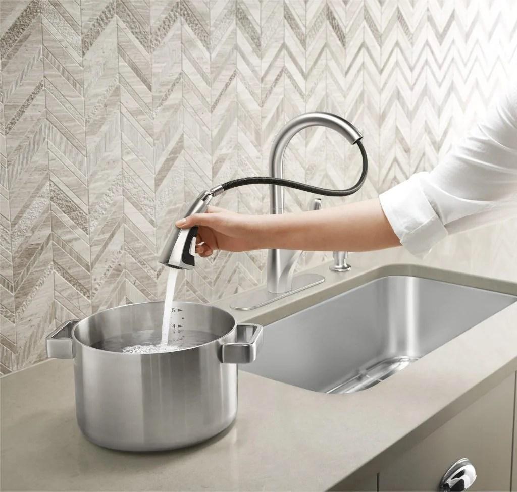 new kitchen faucet turn to kohler kohler kitchen faucets Kohler Home Depot Kitchen Faucet