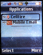 Cellfire Application