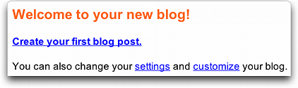 eBay Weblog / Blog Welcome