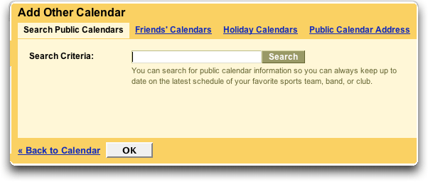 Google Add Other Calendar