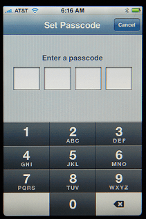 Apple iPhone Settings: Set Password Passcode