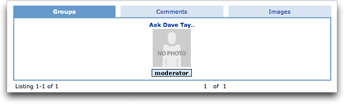 MySpace Safe Editor: Groups
