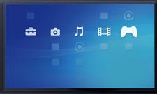 PSP Home Screen